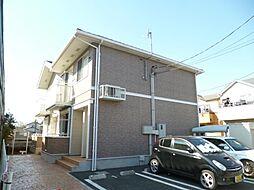 東京都武蔵村山市大南1丁目の賃貸アパートの外観