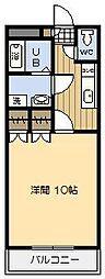レジデンス末広[302号室]の間取り