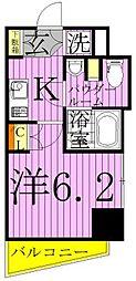 東京都足立区千住寿町の賃貸マンションの間取り