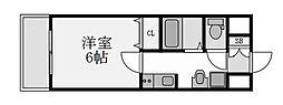 プレミアムステージ新大阪駅前II[503号室]の間取り