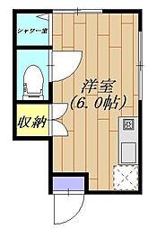 大森 アパートメント[1階]の間取り