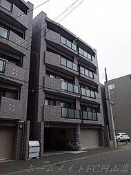 北海道札幌市中央区北六条西24の賃貸マンションの外観