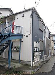 神奈川県横浜市神奈川区二本榎の賃貸アパートの外観