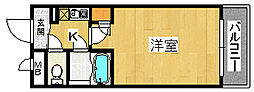 シャルマンフジ堺東弐番館[2階]の間取り
