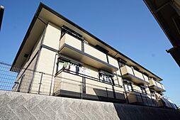 千葉県千葉市緑区おゆみ野中央9丁目の賃貸アパートの外観