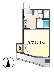HYマンション[5階]の間取り
