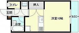 IMマンション[1階]の間取り