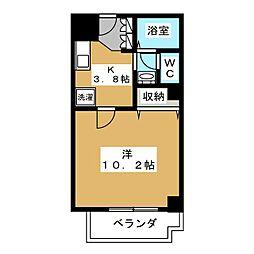 メディナ烏丸[3階]の間取り