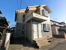 千葉県富里市十倉の賃貸アパートの外観