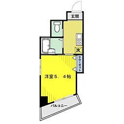 エクセルII[402kk号室]の間取り
