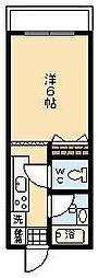 ケントクレール宮崎大工町[203号室]の間取り