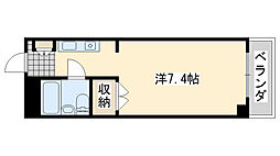 ロンネスト WAVE HOUSE[205号室]の間取り