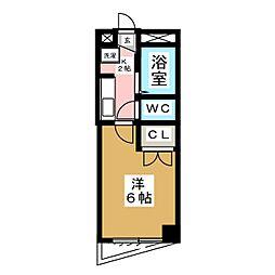 ウィンディヒルズイン松木[2階]の間取り