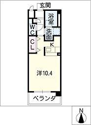 GRAN DUKEII[4階]の間取り