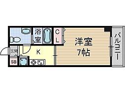 サンピラー茨木by KアンドI[3階]の間取り