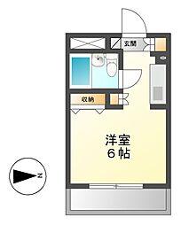 メゾン・ド・カルフール[3階]の間取り