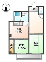 ノマツビル[4階]の間取り
