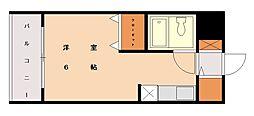メゾン・ド・香椎参道[3階]の間取り