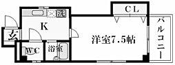 ユミール[4階]の間取り