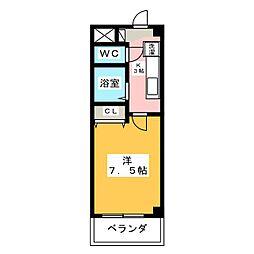 アイリス八事[2階]の間取り