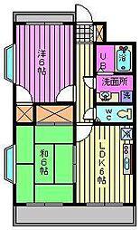 ビュープラザ斎藤III[3階]の間取り