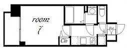 プレサンス金山デュアル[8階]の間取り