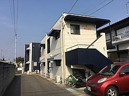 岡山県岡山市北区北方1丁目の賃貸アパートの外観