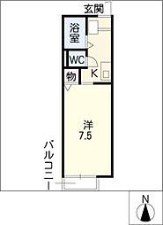 ATハウス[2階]の間取り
