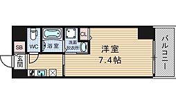 ドゥーエ立売堀[3階]の間取り