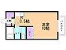 間取り,1K,面積22.4m2,賃料5.0万円,バス くしろバス芦野5丁目下車 徒歩2分,,北海道釧路市芦野5丁目16番