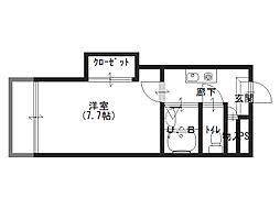 ラ・ビスタ暁3階Fの間取り画像