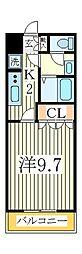 ティープラント1[2階]の間取り