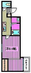 My Style岸町 B[2階]の間取り