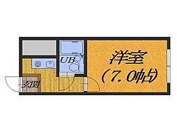BBSマンション[1階]の間取り