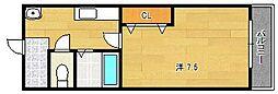 UIサンライズ[1階]の間取り