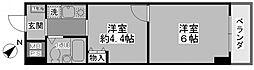 ガーデンプラザ横浜南[212号室号室]の間取り