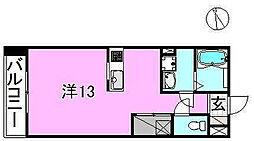サクラガーデン[103 号室号室]の間取り