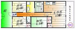 グリーンプラザ[2階]の間取り