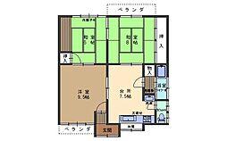 [一戸建] 広島県呉市西惣付町 の賃貸【/】の間取り