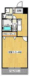 ユースロードヤマサキ[4階]の間取り