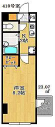 ミリアビタNo.7[2階]の間取り