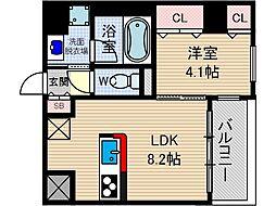 コルテ・ビラージュ[5階]の間取り