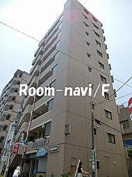 東京都荒川区東日暮里1丁目の賃貸マンションの外観