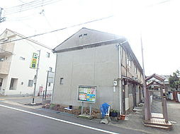 兵庫県神戸市灘区篠原中町3丁目の賃貸アパートの外観