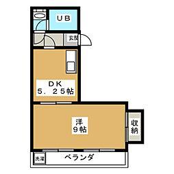 コーポアルビオレ[2階]の間取り