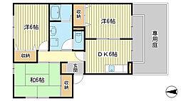 フレマリール八代 B棟[1階]の間取り