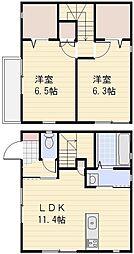 [一戸建] 埼玉県さいたま市南区大字太田窪 の賃貸【/】の間取り