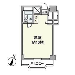 氷川アネックス2号館[3階]の間取り