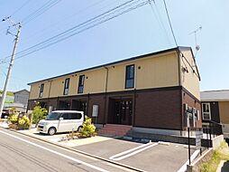 福岡県北九州市若松区小敷ひびきの1丁目の賃貸アパートの外観