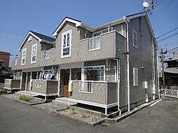 愛媛県伊予市尾崎の賃貸アパートの外観